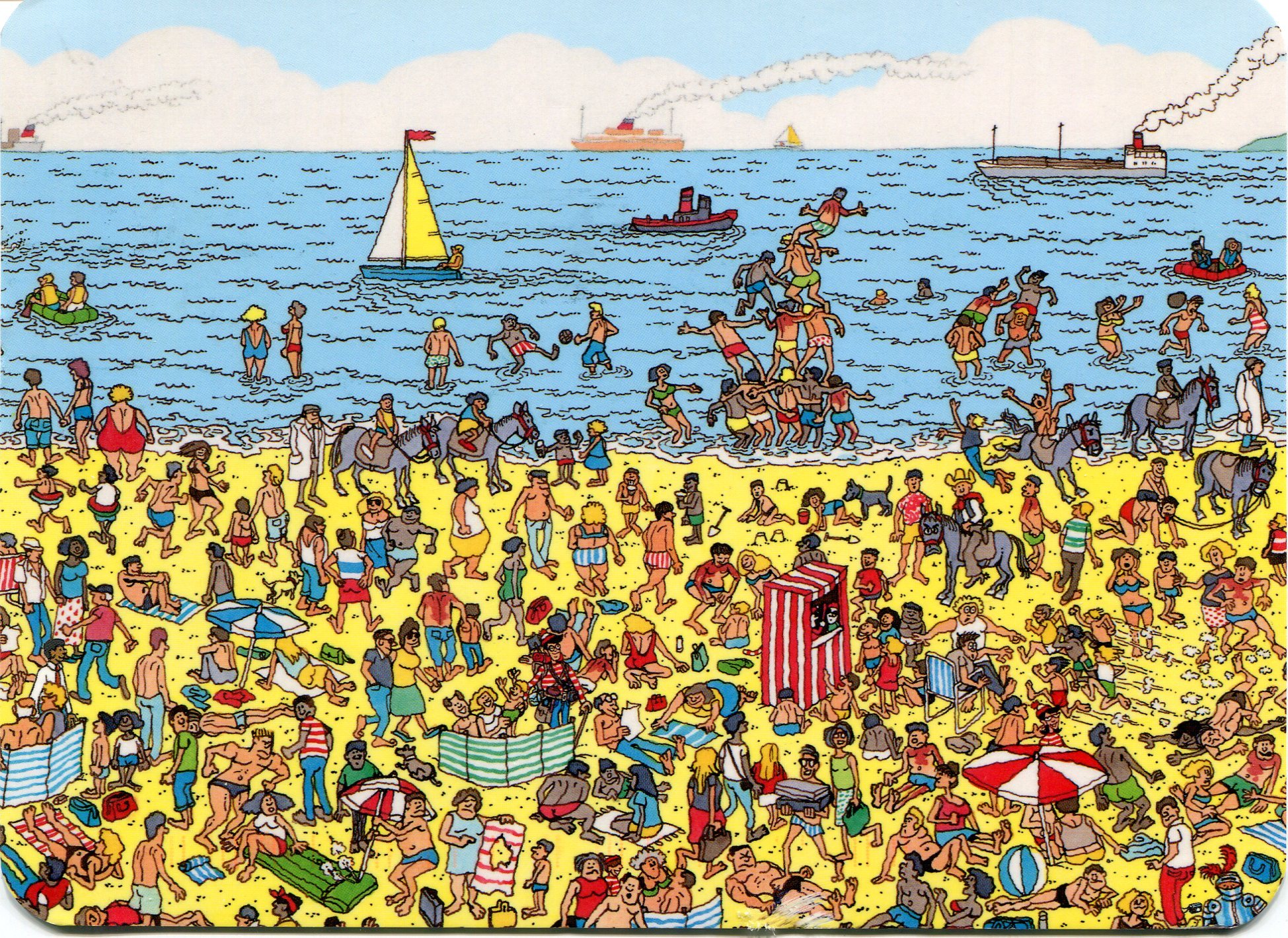 Where's Waldo Beach