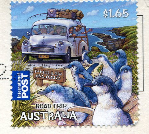 Australia - Billy Goat Falls stamps