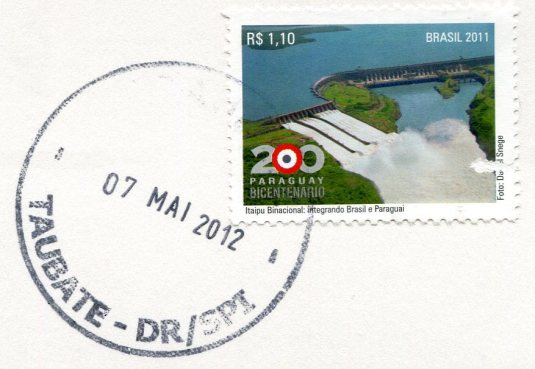 Brazil - Chapel of Our Lady of Carmo stamps