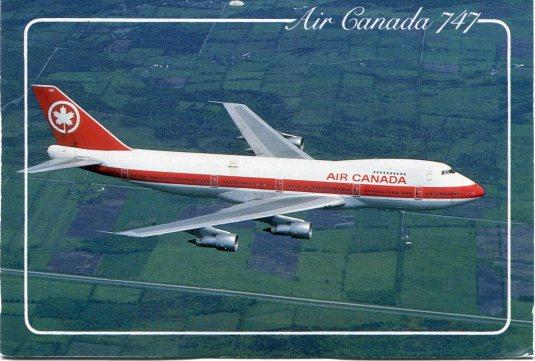 Canada - Air Canada 747