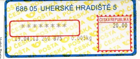 Czech Republic - Uherske Hradiste stamps