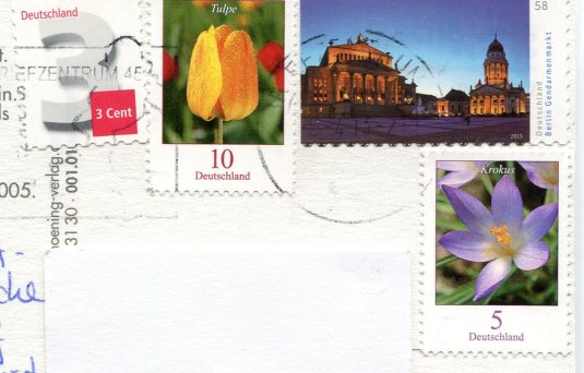 Germany - Franenkirch Dresden stamps