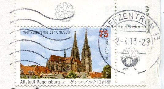 Germany - Regensburg stamps