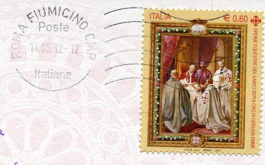 Italy - Tuscania - Church of Santa Maria Maggiore stamps