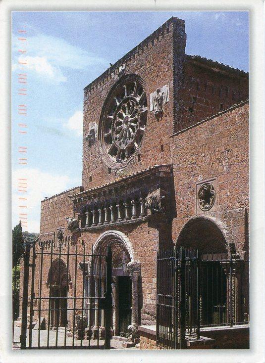 Italy - Tuscania - Church of Santa Maria Maggiore