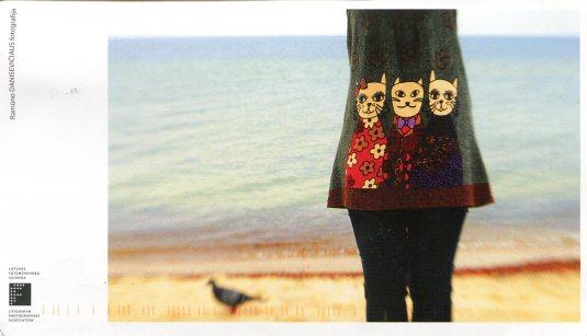 Lithuania - Ad Card