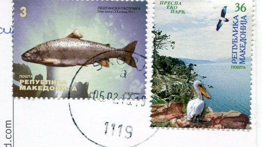 Macedonia - Church St Kliment stamps