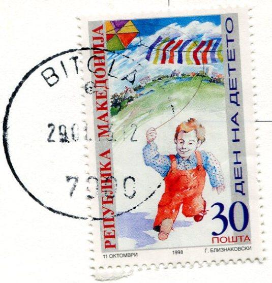 Macedonia - Stone Bridge on Vardar stamps