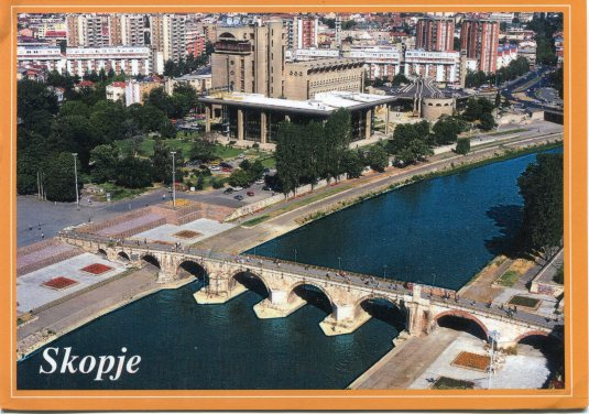 Macedonia - Stone Bridge on Vardar