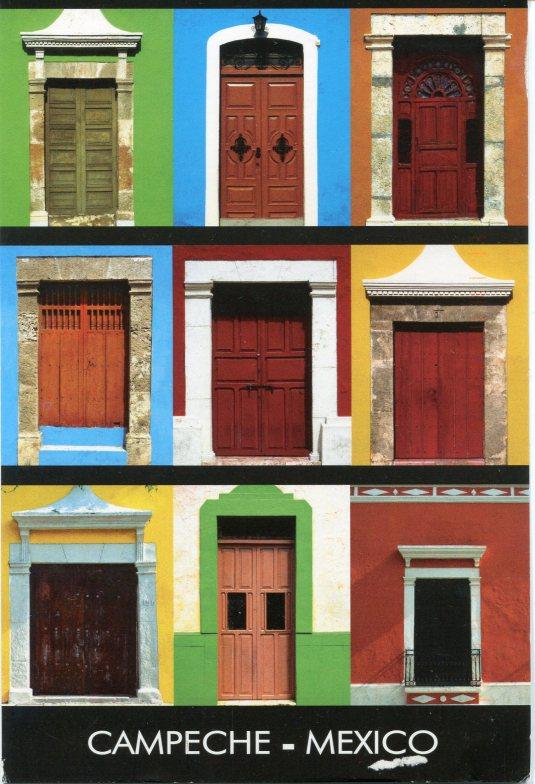 Mexico - Campeche Doors