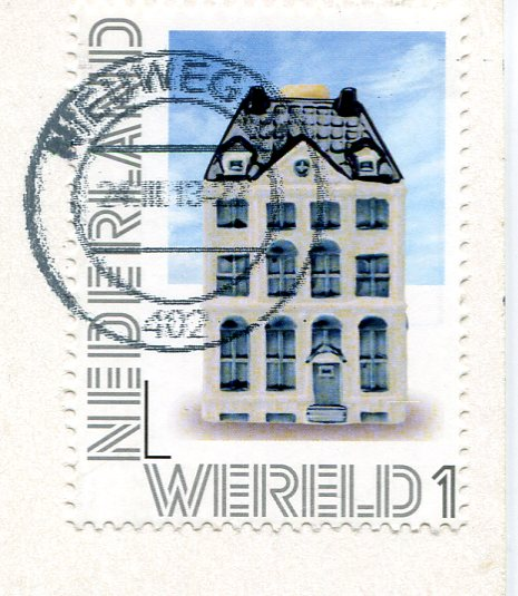 Netherlands - Cat and Fishbowl stamps