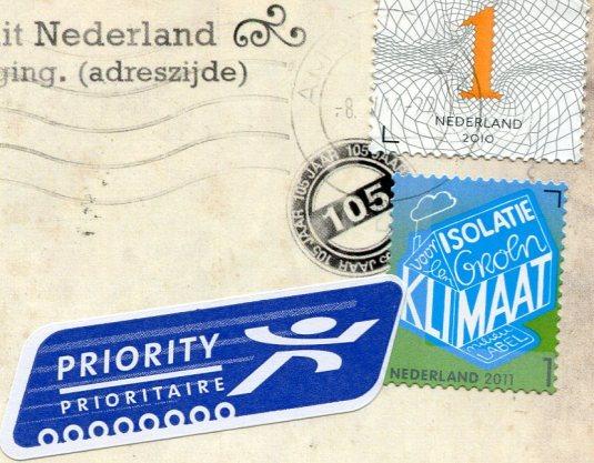 Netherlands - Willemsbrug stamps