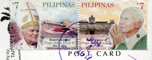 Philippines - Ati-Atihan Festival stamps