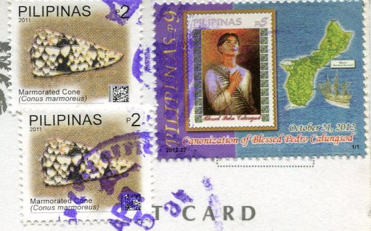 Philippines - Churches stamps