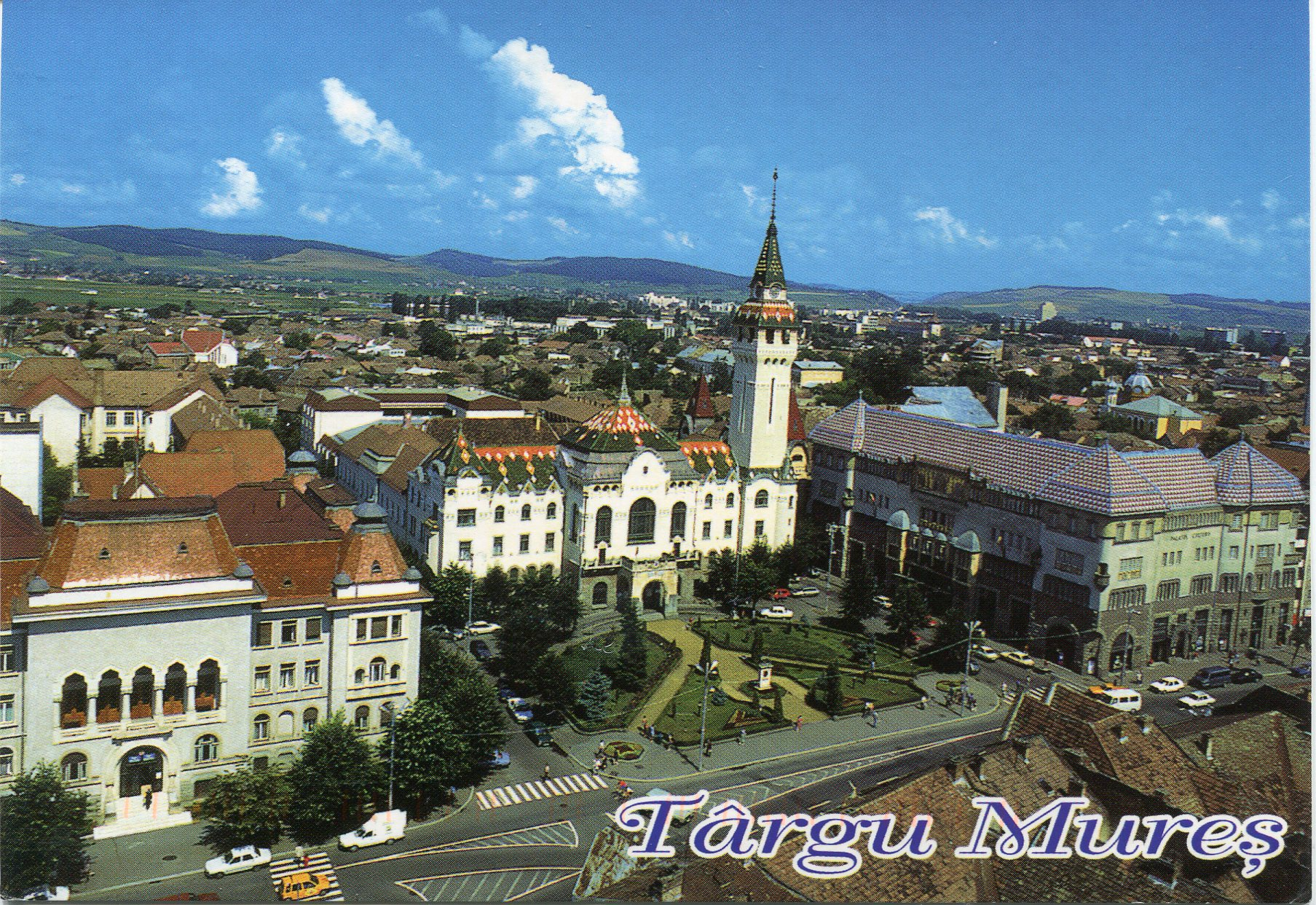 Targu Mures Romania  city photo : Romania   Remembering Letters and Postcards