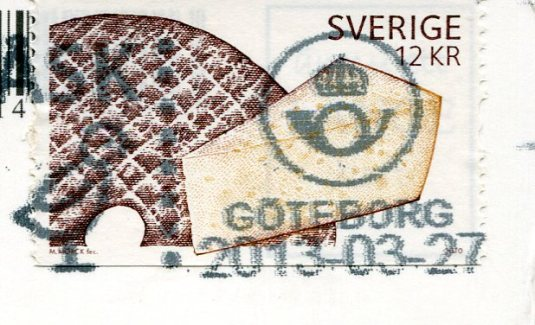 Sweden - Map card stamps