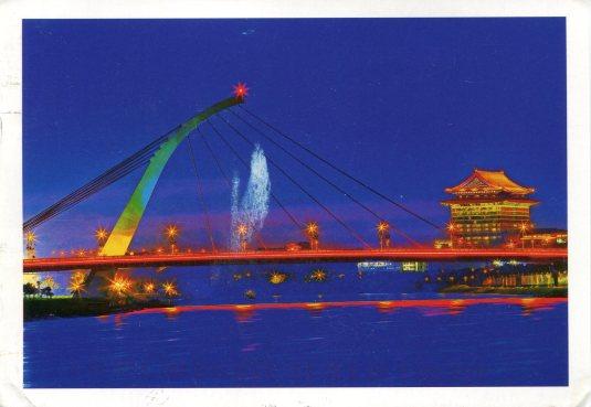 Taiwan - Dajhih Bridge Night