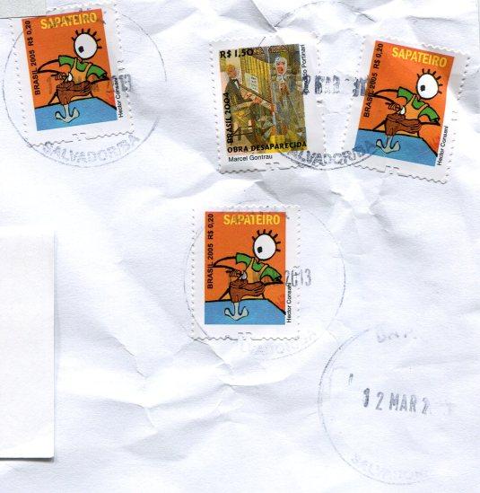 UK - London Night Multi stamps