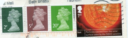 UK - London - Westminster Abbey stamps