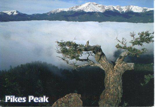 USA - Colorado - Pikes Peak