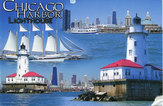 USA - Illinois - Chicago Harbor Lighthouse