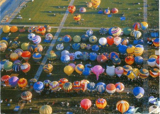 USA - New Mexico - Albuquerque International Balloon Festival