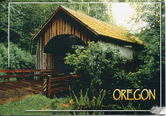 USA - Oregon - Covered Bridges