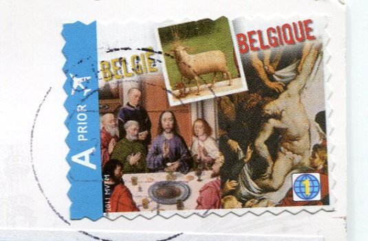 Belguim - Brussels - Grand Place stamps