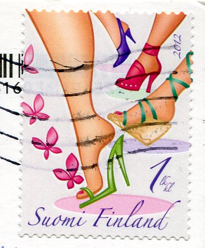Finland - Nokkala - Knitting Socks stamps