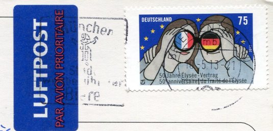 Germany - Lighthouses stamps