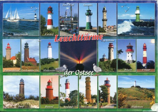 Germany - Lighthouses