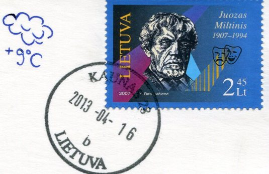 Lithuania - Embroidery stamps