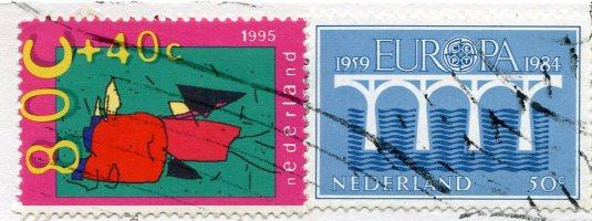 Netherlands - Sheed herd stamps 2