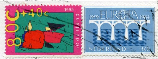 Netherlands - Sheed herd stamps 2