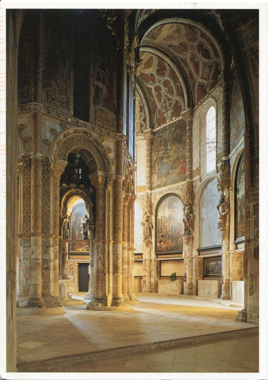 Portugal - Convent of Christ Interior