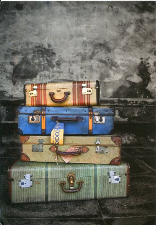 Russia - Old Luggage