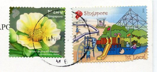 Singapore - Raffles Hotel stamps
