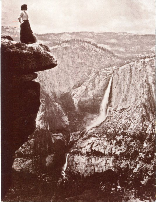 USA - California - Yosemite vintage photo