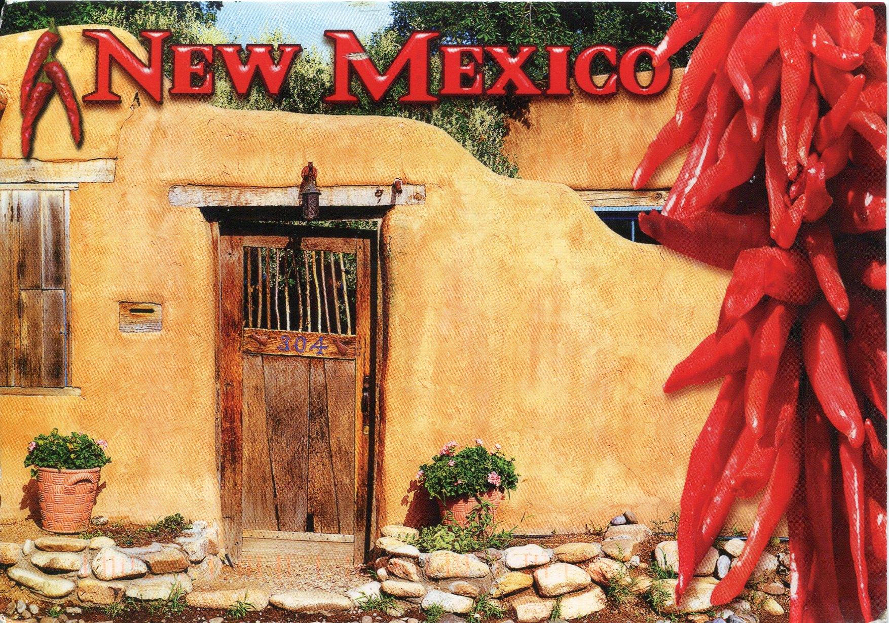 Completely new Santa Fe, New Mexico | Remembering Letters and Postcards YW25