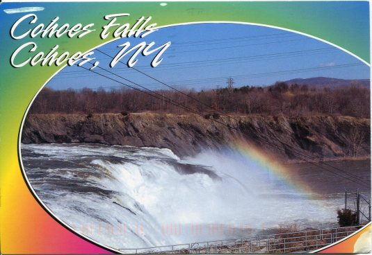 USA - New York - Cohoes Falls