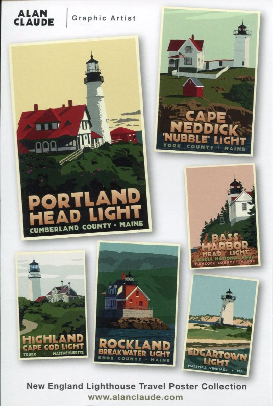 USA - Z - New Englad Lighthouses