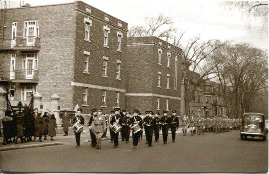 Canada - Military Parade 1938