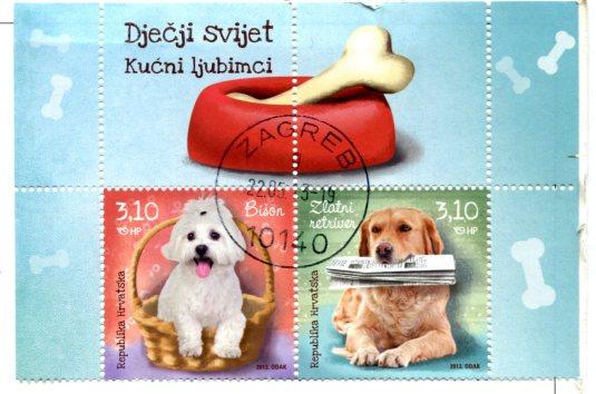 Croatia - Veliki Tabor Castle stamps