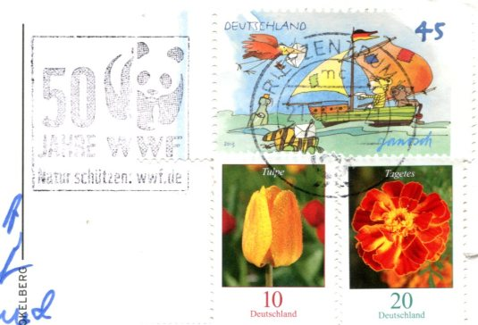 Germany - Frankfurt c 1900 stamps