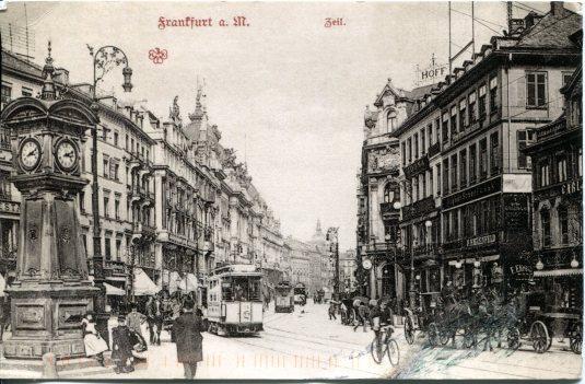 Germany - Frankfurt c 1900