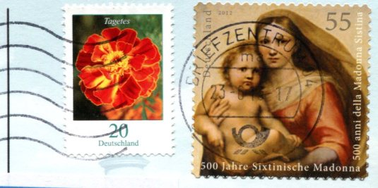 Germany - Moritzberg LH stamps
