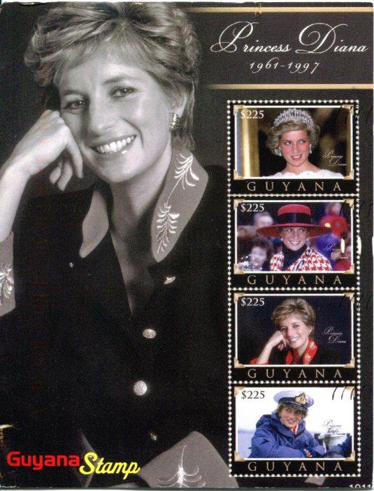 Guyana - Princess Diana