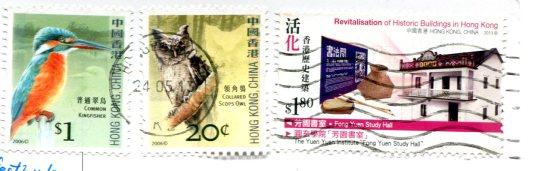 Hong Kong - Market stamps