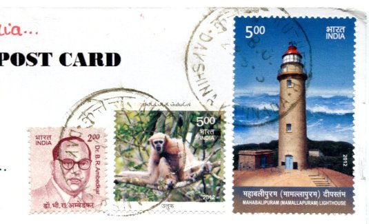 India - Tangasseri Point Lighthouse stamps