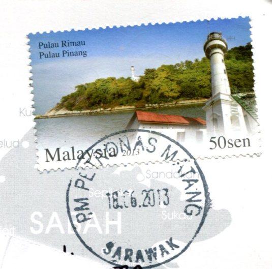 Malaysia - Orang Utan stamps